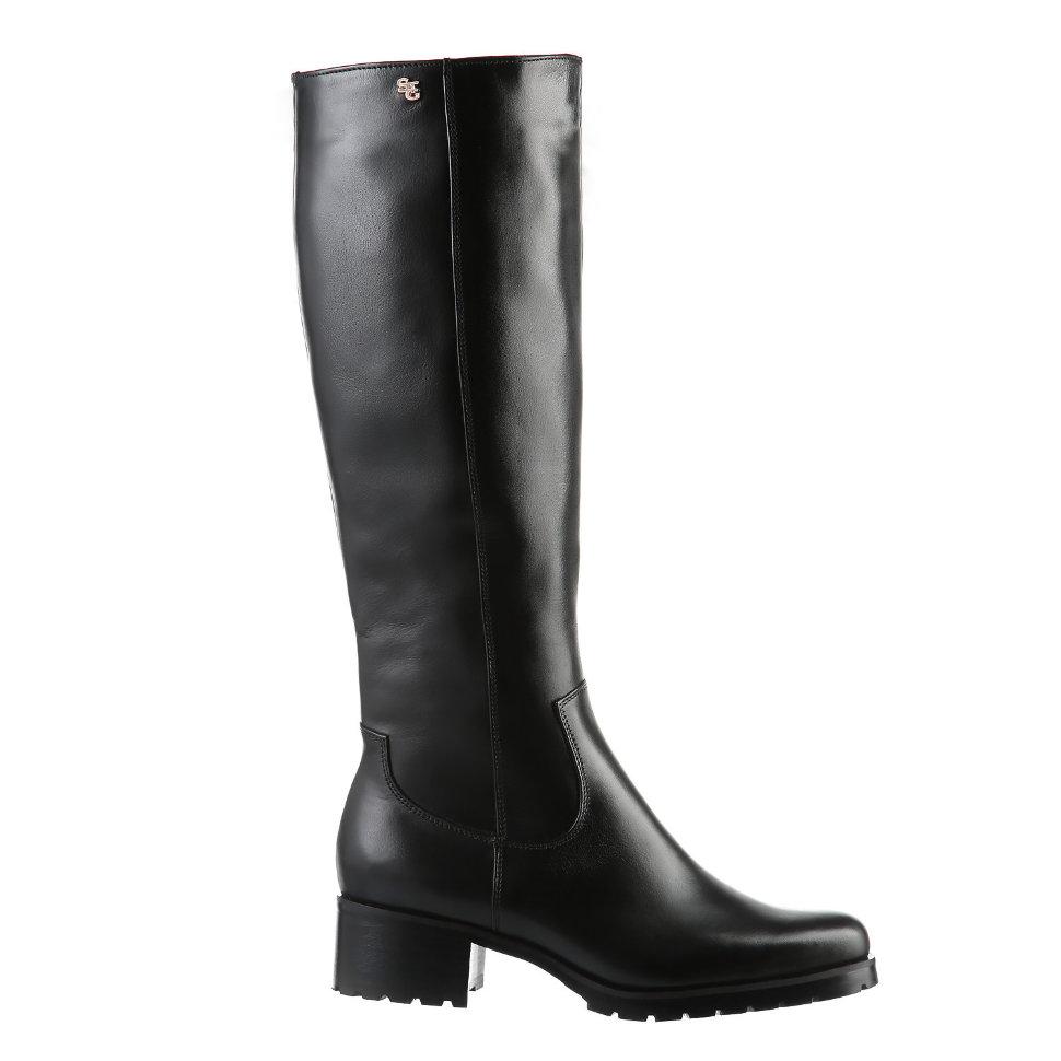 Высокие сапоги под колено. Модель 1228 н евро (зима) 3911bddab8c