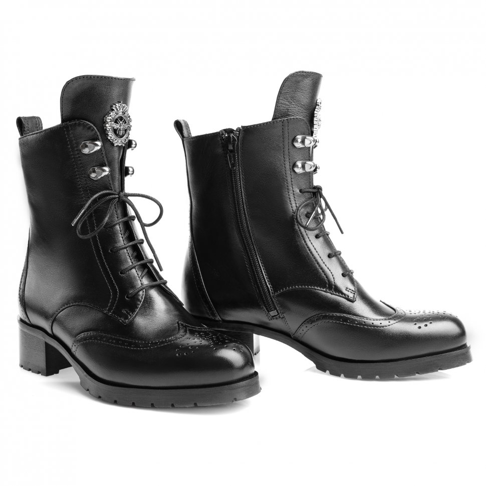 Ботинки женские со шнуровкой и молнией, производство Россия, фабрика ... db192697027